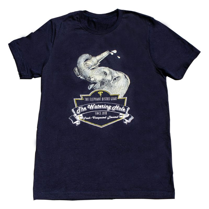 The Elephant Watering Hole Tee - Front