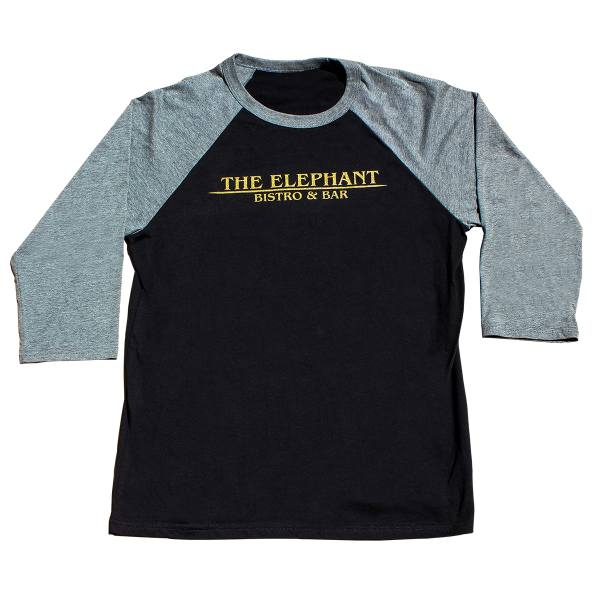 The Elephant - baseball tee