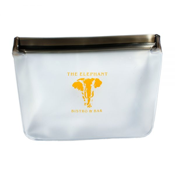 The Elephant Bistro and Bar reusable snack bags